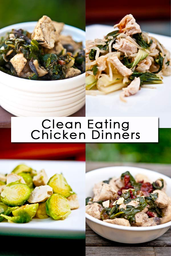 Clean Eating Thursday Recipe Linkup - Chicken Dinners