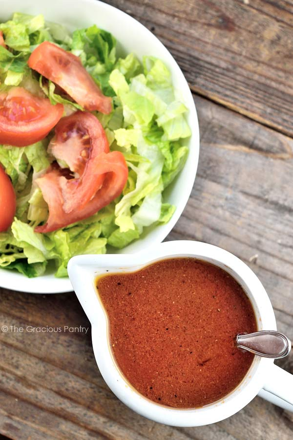 Clean Eating French Dressing Recipe