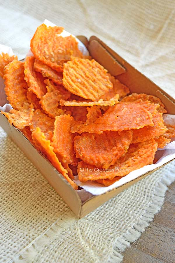 clean eating sweet potato chips