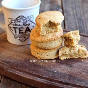 Clean Eating Tea Biscuits Recipe