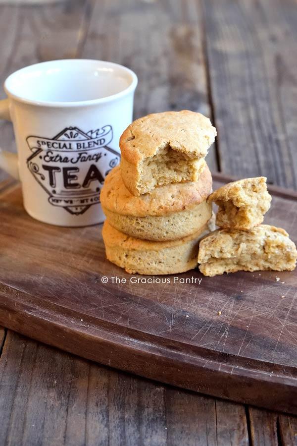 Tea Biscuits Recipe With Tazo Tea