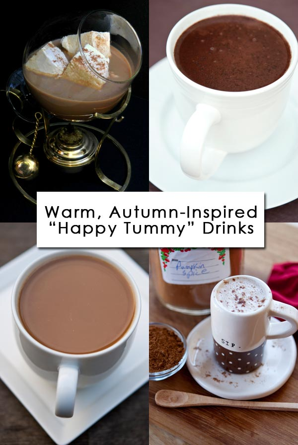 Clean Eating Thursday Recipe Linkup - Warm Autumn Inspired Drink Recipes