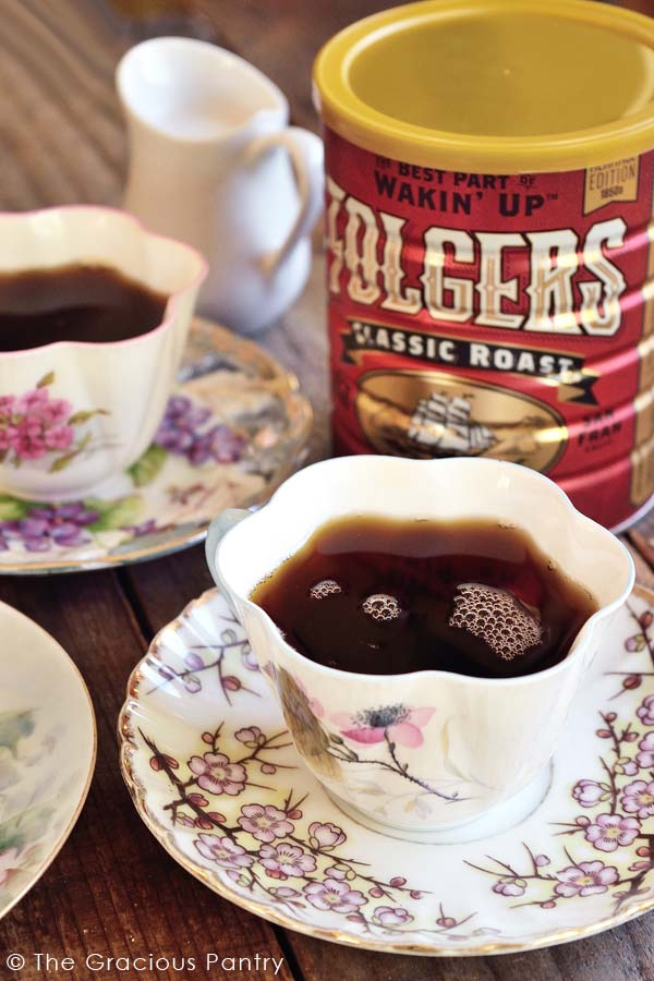 Oma's Clean Eating Holiday Spiced Coffee Recipe