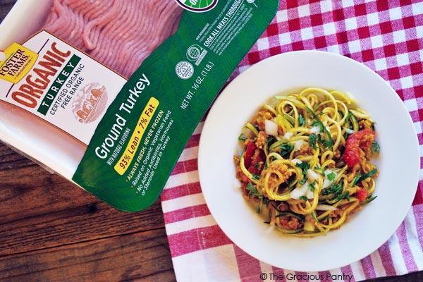 Clean Eating Mexican Zpaghetti Recipe