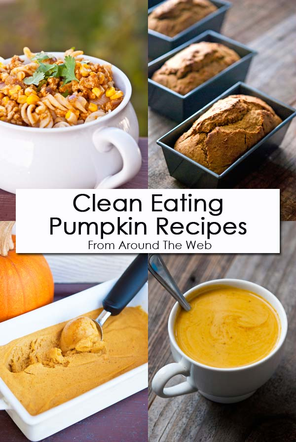 Clean Eating Thursday Recipe Linkup - Pumpkin Recipes