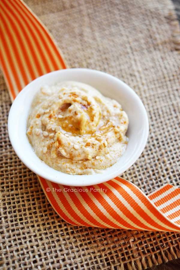 Clean Eating Tahini Dip Recipe