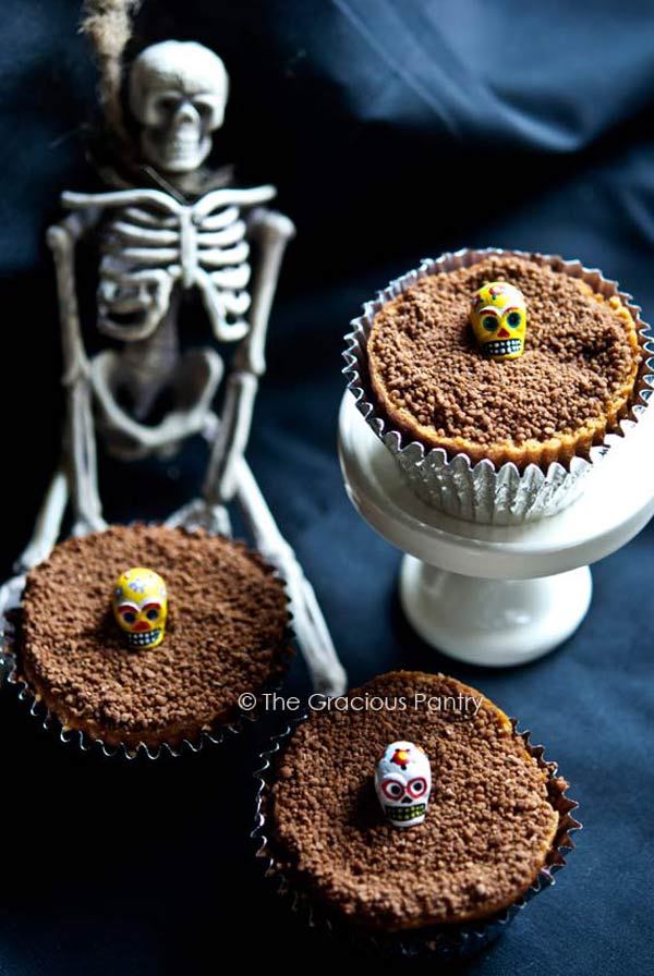 Clean Eating Graveyard Dirt Cupcakes Recipe
