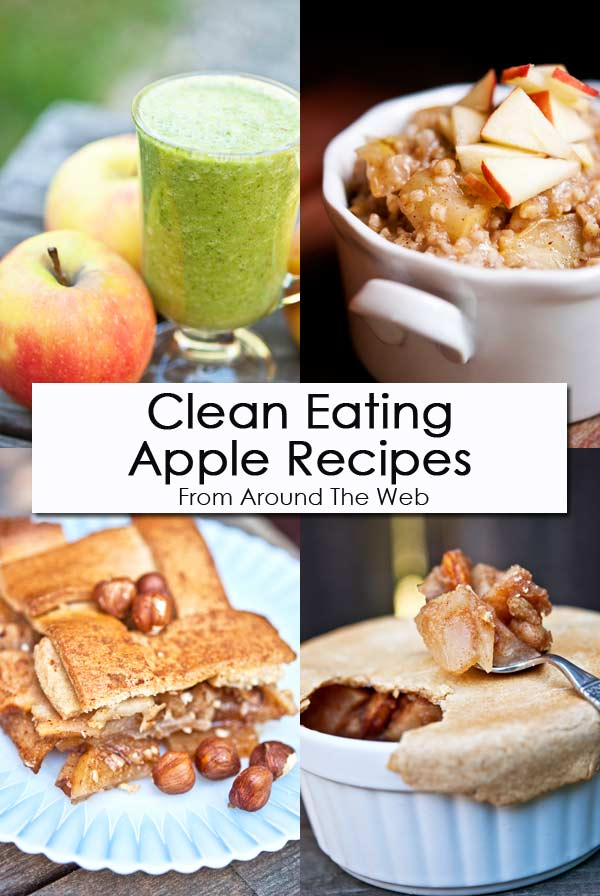 Clean Eating Thursday Recipe Linkup - Apple Recipes