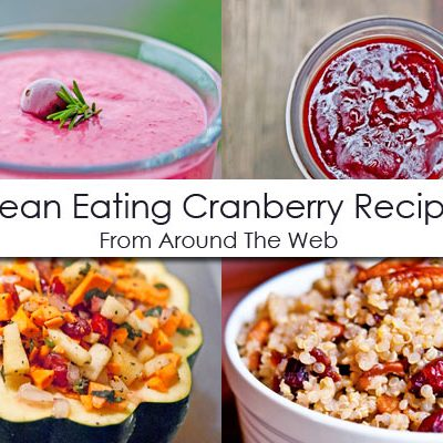 Clean Eating Thursday Recipe Linkup – Cranberry Recipes
