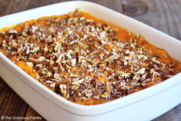 Clean Eating Twice Baked And Loaded Sweet Potato Casserole Recipe
