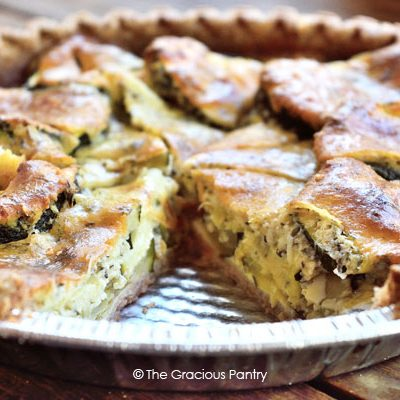 Clean Eating Zucchini Pie Recipe