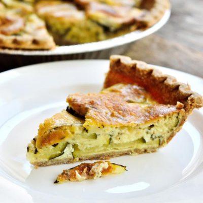 Zucchini Pie Recipe