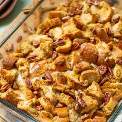 Pumpkin Spice French Toast Casserole Recipe