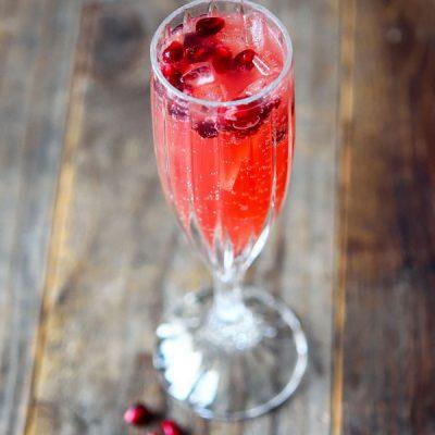 Cranberry Pomegranate Sparklers Recipe