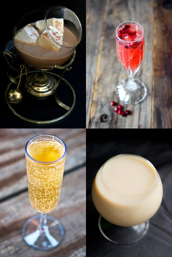 Clean Eating Thursday Recipe Linkup - Holiday Drink Recipes