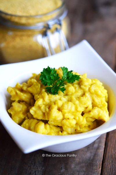 Clean Eating Macaroni And Cheese Dry Mix Recipe (Dairy Free)
