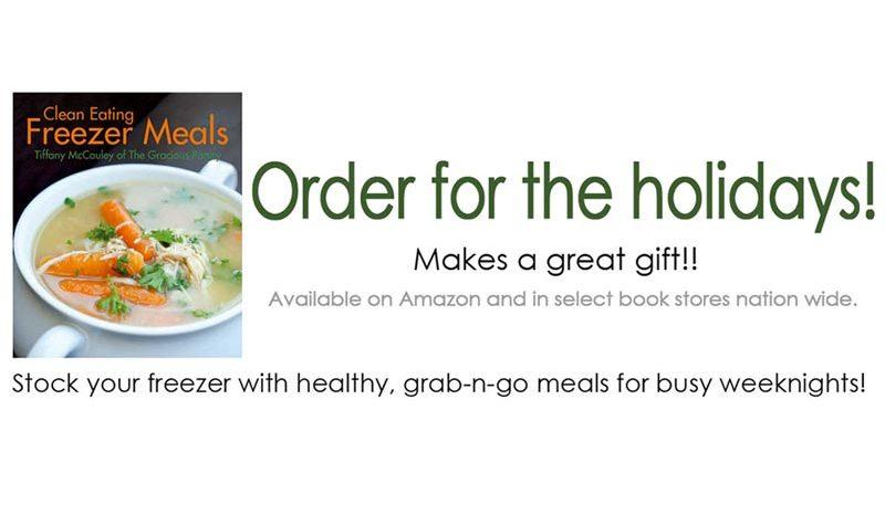 Clean Eating Freezer Meals Cookbook (Paperback)