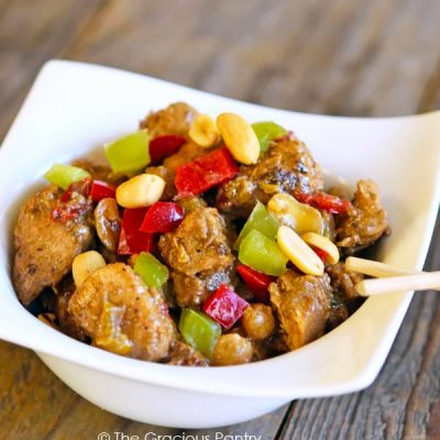 Clean Eating Kung Pao Chicken Recipe