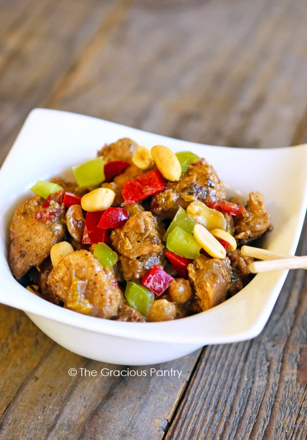 Healthy Kung Pao Chicken Recipe