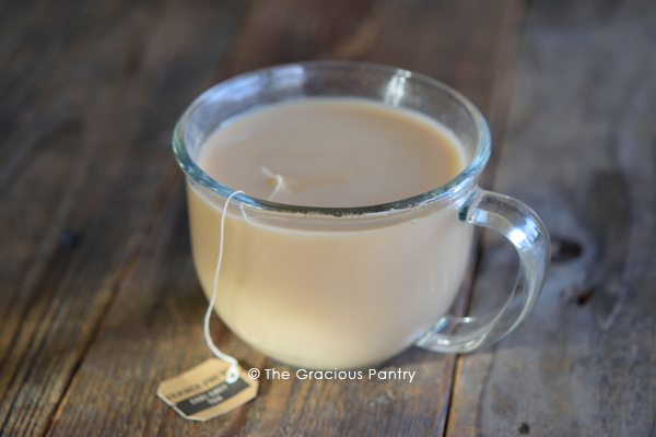 Clean Eating London Fog Recipe In Mug