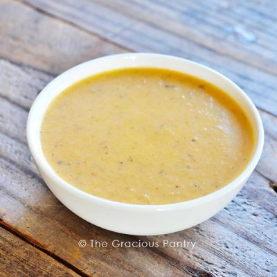 Clean Eating Roasted Red Pepper Bisque Recipe
