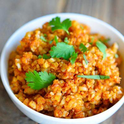 Clean Eating Spanish Cauli-Rice Recipe