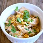 Clean Eating Thai Peanut Chicken Recipe