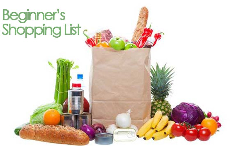 Beginner's Clean Eating Shopping List