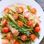 Clean Eating Pressure Cooker Mediterranean Rosemary Salmon Recipe