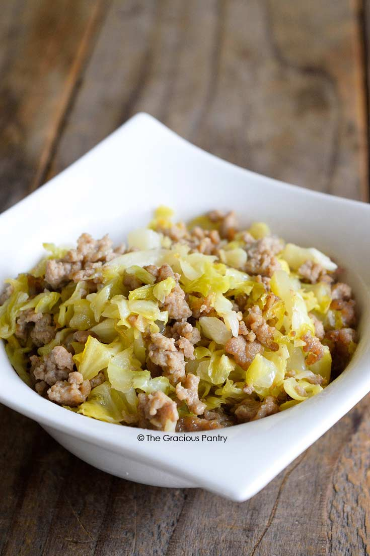Clean Eating Cabbage Hash Recipe