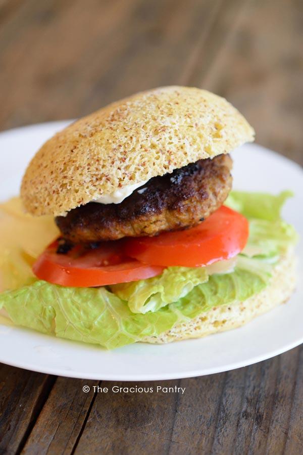 Clean Eating Pork Burgers Recipe