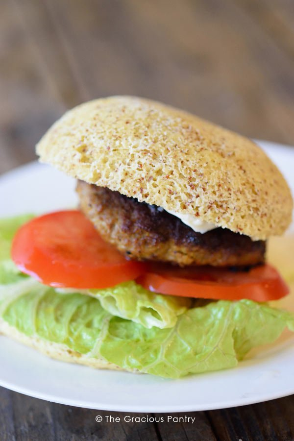 Clean Eating Pork Burgers Recipe