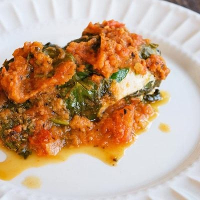 Clean Eating Instant Pot Spinach Chicken Recipe