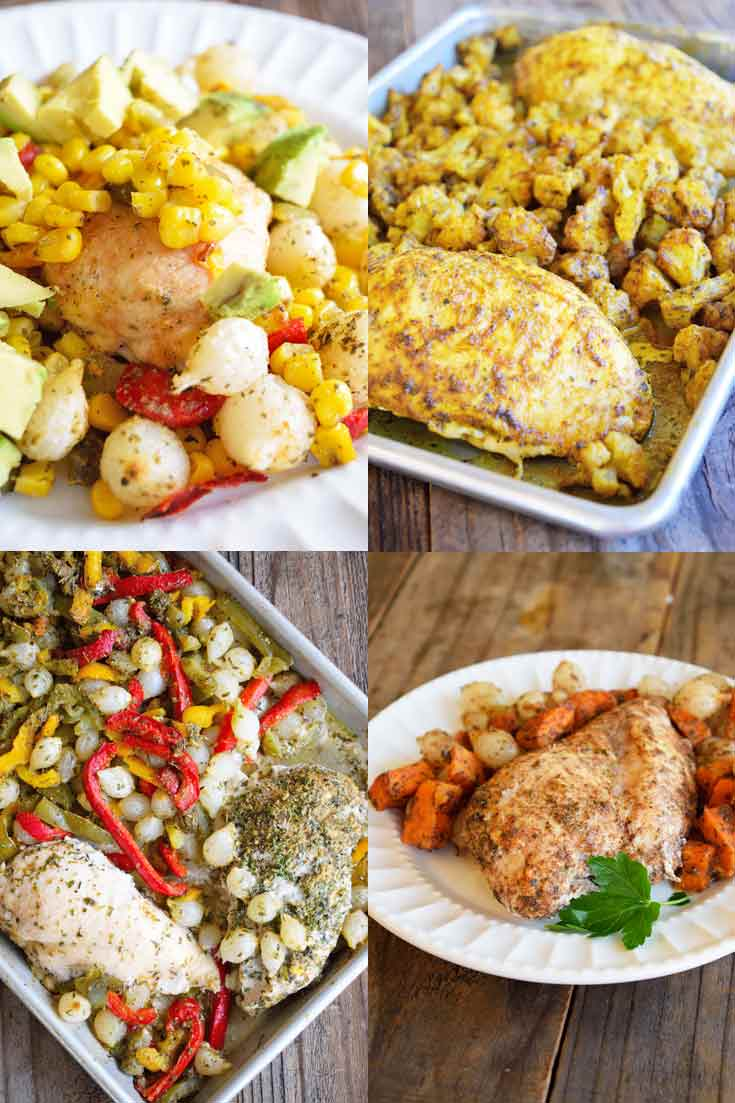 5 Chicken Sheet Pan Dinners You Can Prep In Minutes!
