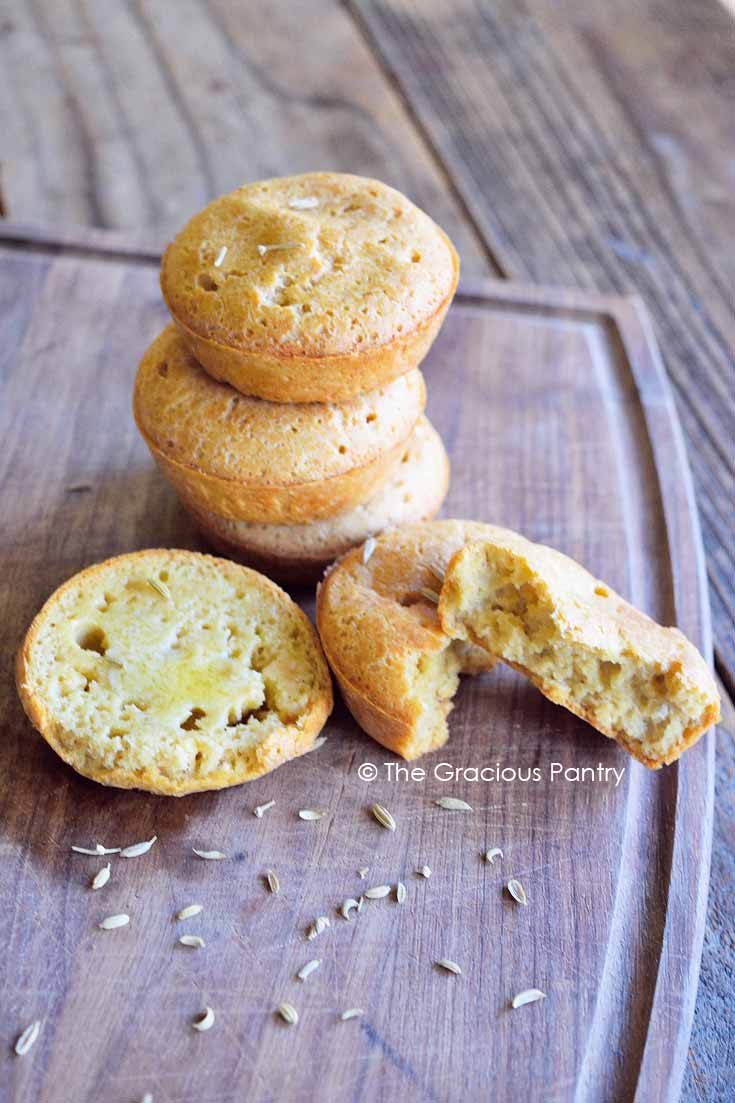 Clean Eating Almond And Fennel Muffins Recipe