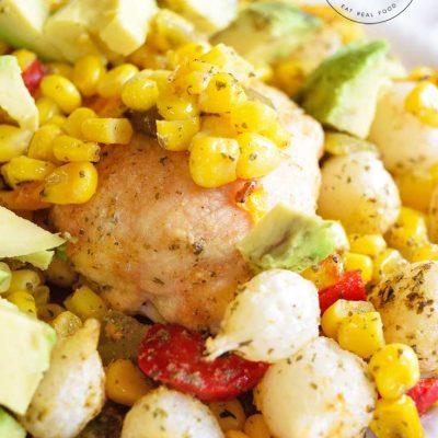 Sheet Pan Mexican Chicken Dinner Recipe
