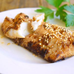 Clean Eating Chinese-Style Sheet Pan Cod Recipe