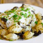 Clean Eating Sheet Pan Mushroom And Onion Cod Recipe