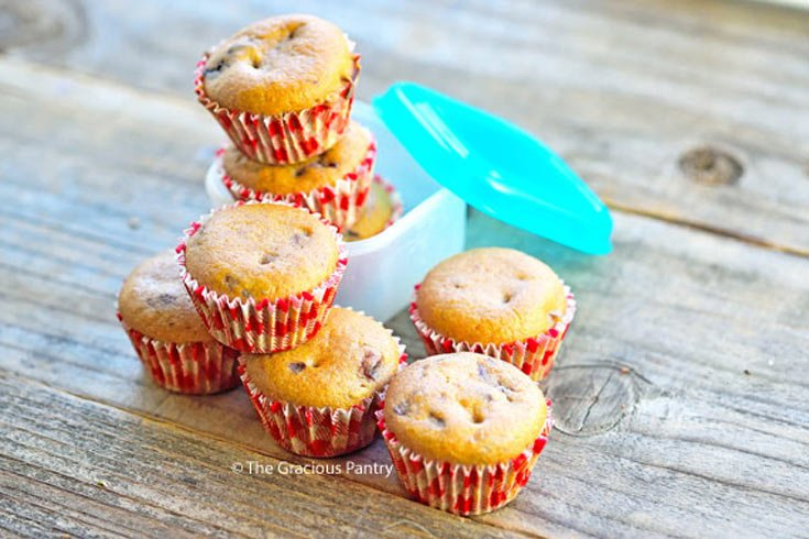 Clean Eating Lunchbox Muffins Recipe
