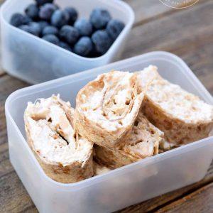 Clean Eating Tuna Pinwheels Recipe