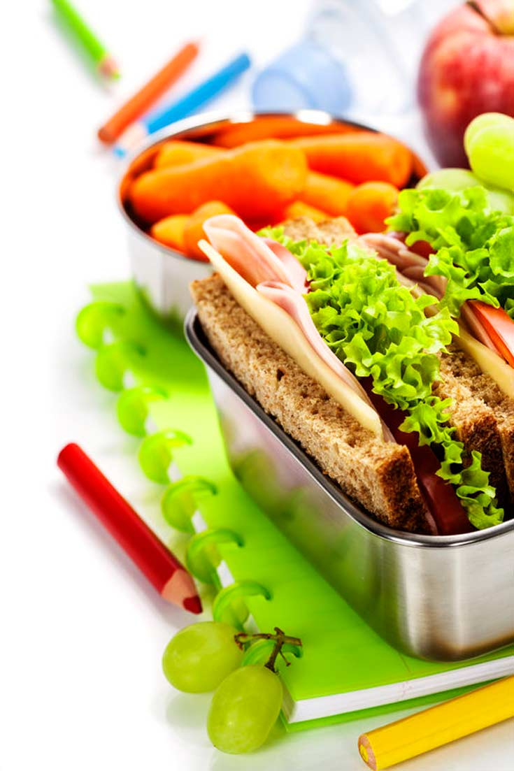 Clean Eating Back to School Lunch Tips