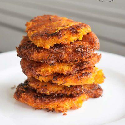 Clean Eating Sweet Potato Mini Hash Browns Recipe