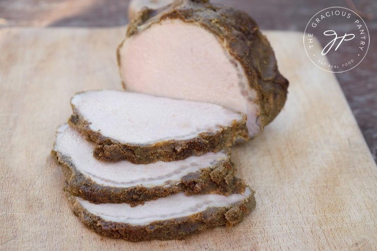 Clean Eating Herb Crusted Pork Loin Recipe