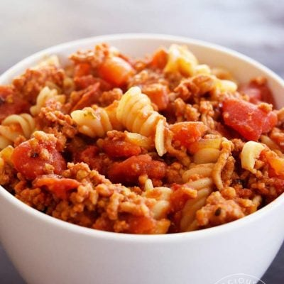 Clean Eating Goulash Recipe