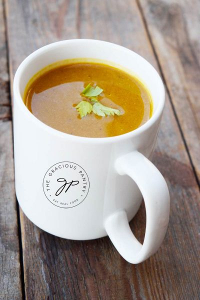 Clean Eating Quick & Easy Pumpkin Soup Recipe