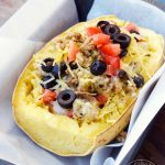 Clean Eating Mexican-Style Stuffed Spaghetti Squash Recipe