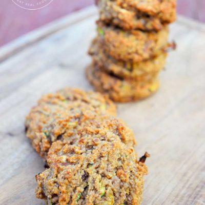 Clean Eating Grain Free Zucchini Bread Cookies Recipe