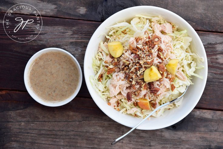 Clean Eating Autumn Cabbage Salad Recipe Ready To Eat