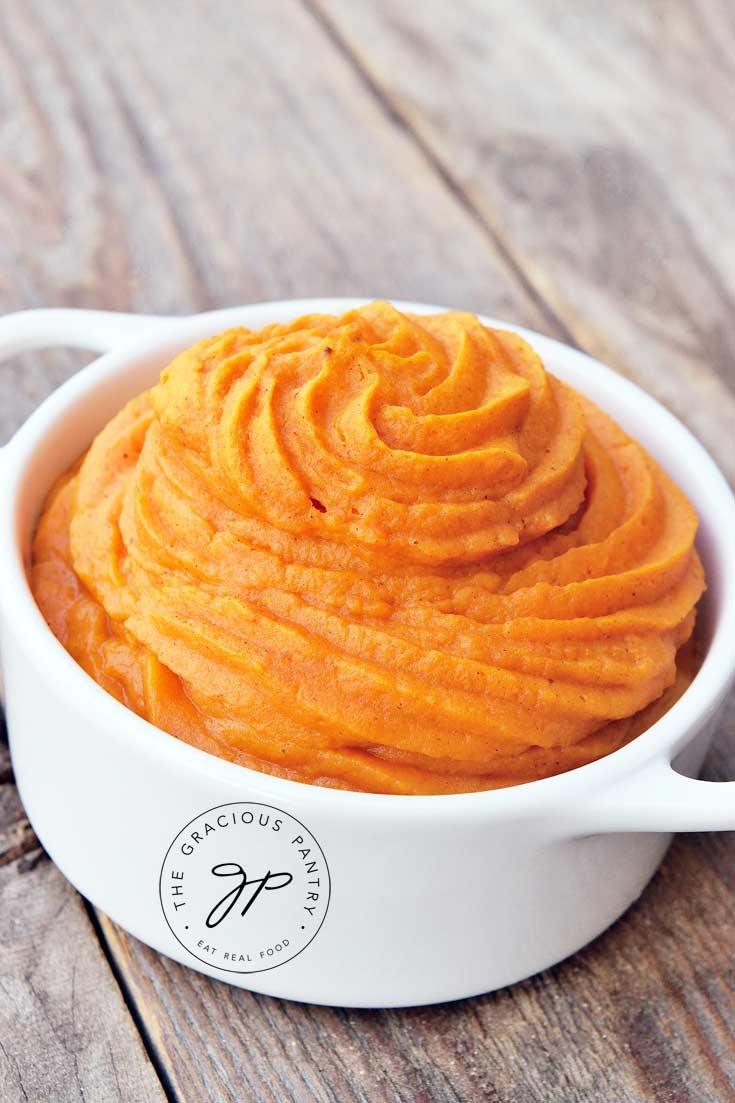 Clean Eating Duchess Style Sweet Potatoes Recipe