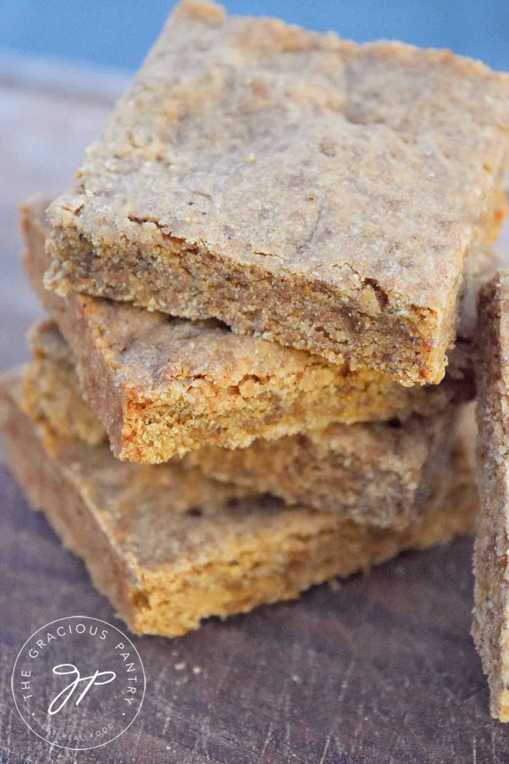 Clean Eating Gingerbread Shortbread Recipe